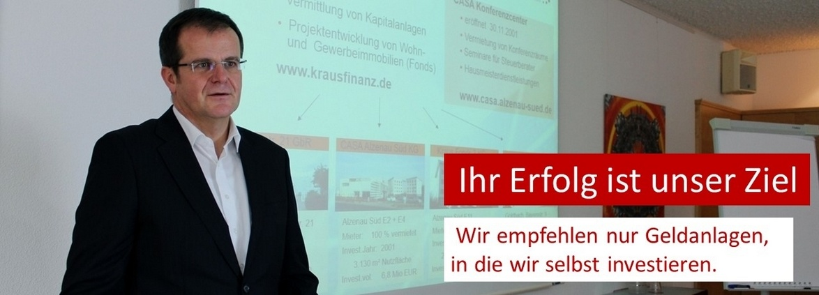 Joachim Kraus, Kraus Finanz aus Alzenau