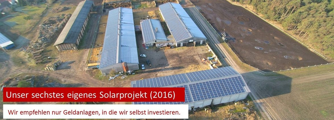 Joachim Kraus von Kraus Finanz aus Alzenau empfiehlt nur Geldanlagen, in die er selbst investiert.