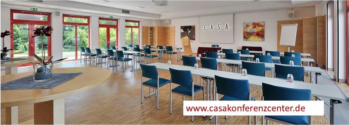 Der CASA Konferenzcenter wird seit 2001 von den Eheleuten Kraus aus Alzenau erfolgreich betrieben.