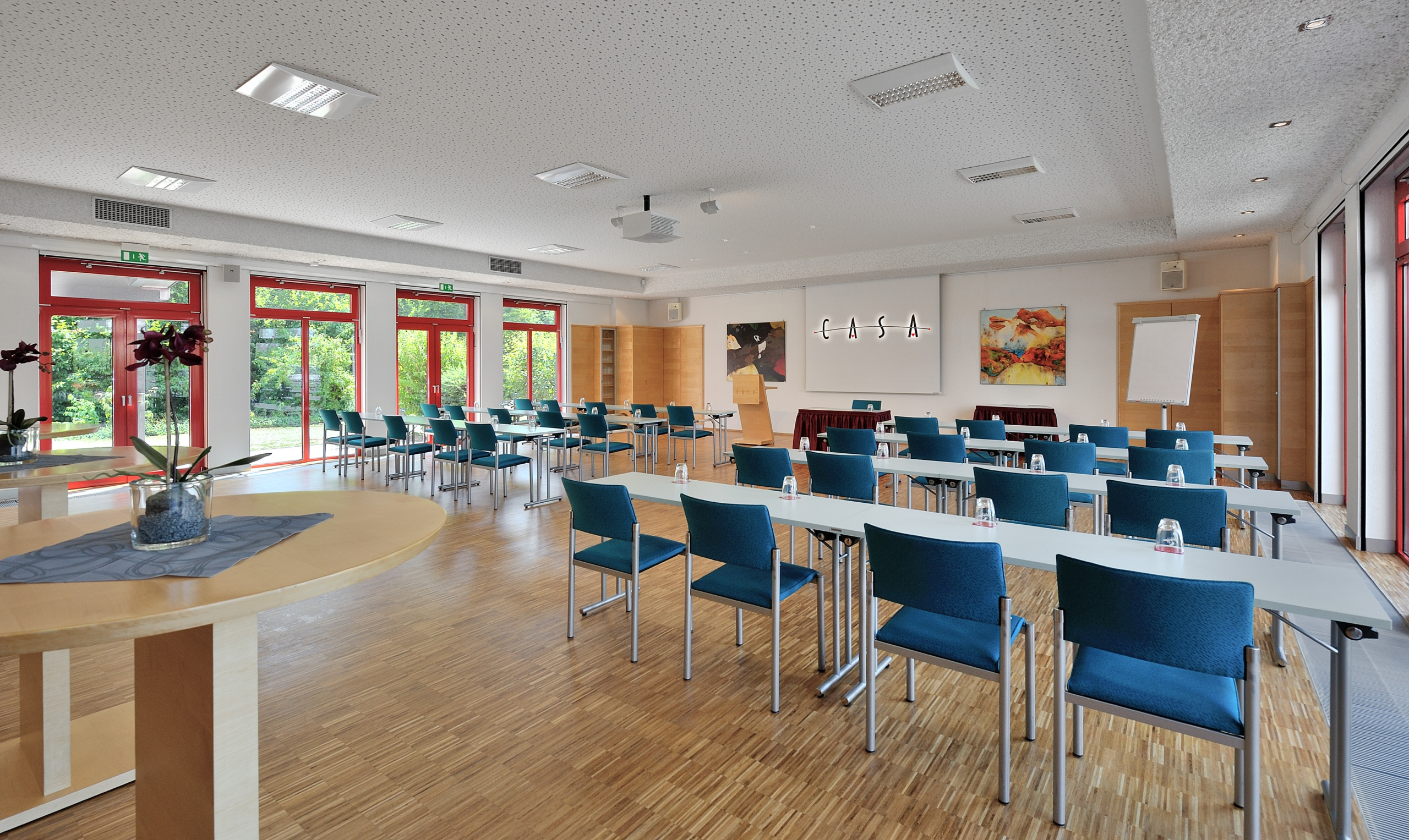 Seminarraum im CASA Konferenzcenter in Alzenau