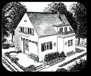1936 hat dieses Einfamilienhaus in Stuttgart 10.000 RM gekostet.