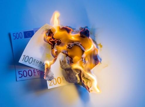 Die Geldpolitik der EZB verbrennt Geld