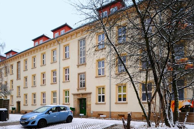 Das Bild zeigt eine Immobilie in Dresden